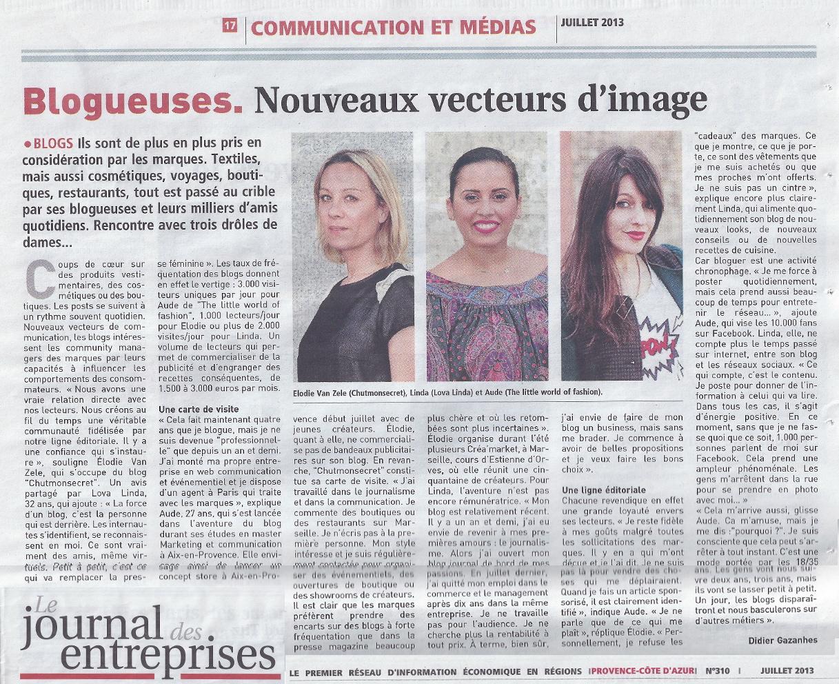 LovaLinda x Le Journal des Entreprises