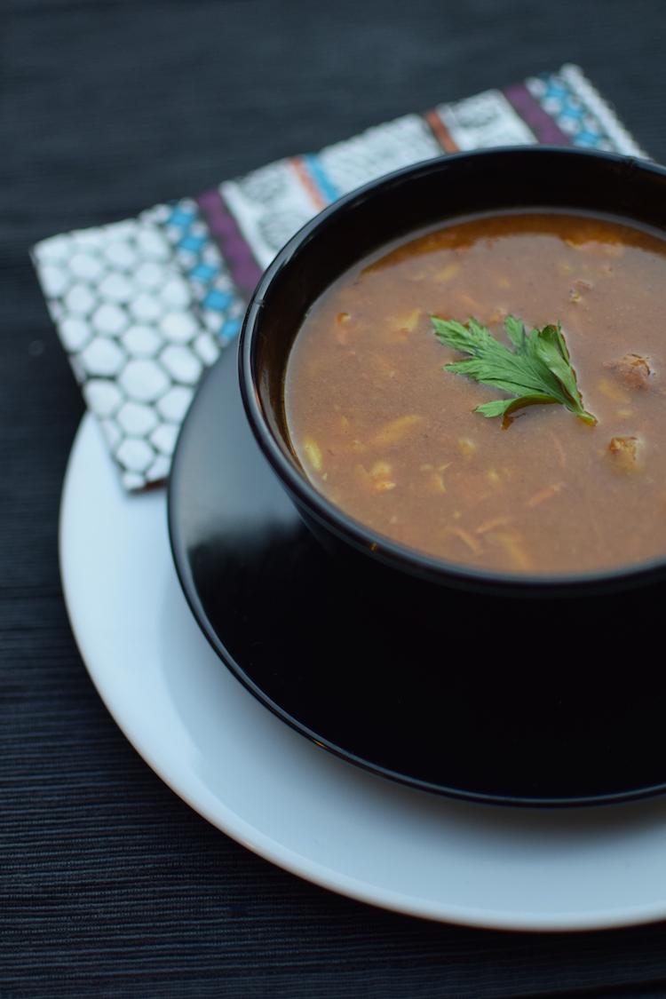 La chorba Dukan | LovaLinda | Blog Cuisine Recettes Soupe | Ramadan