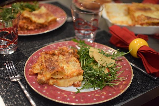 Les lasagnes à la bolognaise | LovaLinda | Blog Cuisine Recettes | Plat | Photographie