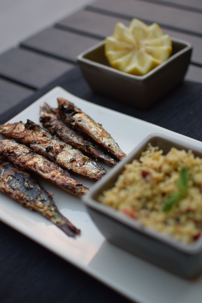 Les sardines grillées à la harissa par LovaLinda | LovaLinda Blog Photo Cuisine Marseille