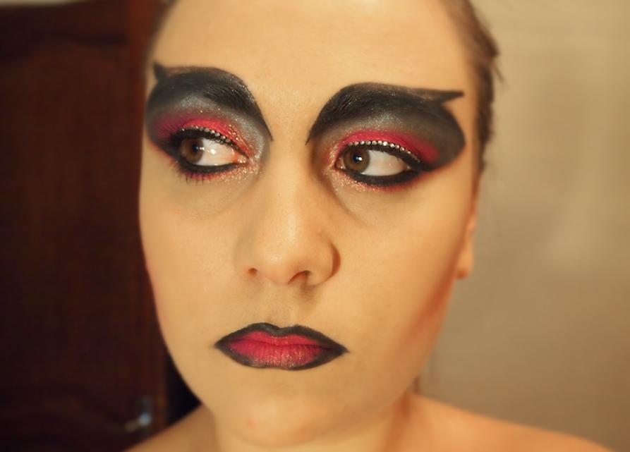 Le make up de sorci re lovalinda - Maquillage de sorciere ...