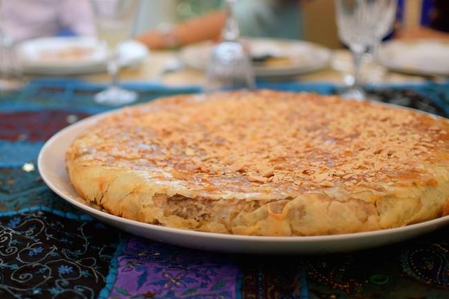 La pastilla au poulet et aux amandes | LovaLinda Blog Cuisine x Recettes Ramadan
