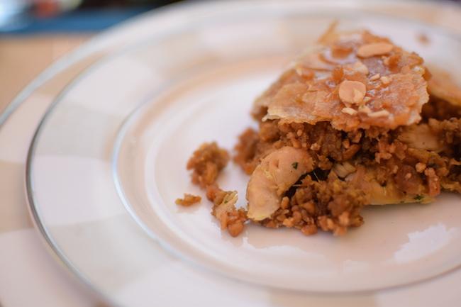 La pastilla au poulet et aux amandes | LovaLinda x Blog Cuisine x Recettes Ramadan