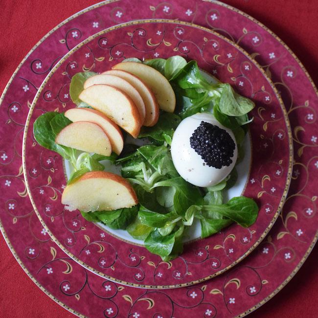 L'œuf mollet en salade | LovaLinda | Blog Cuisine Recettes | Entrée Plat Brunch | Photographie