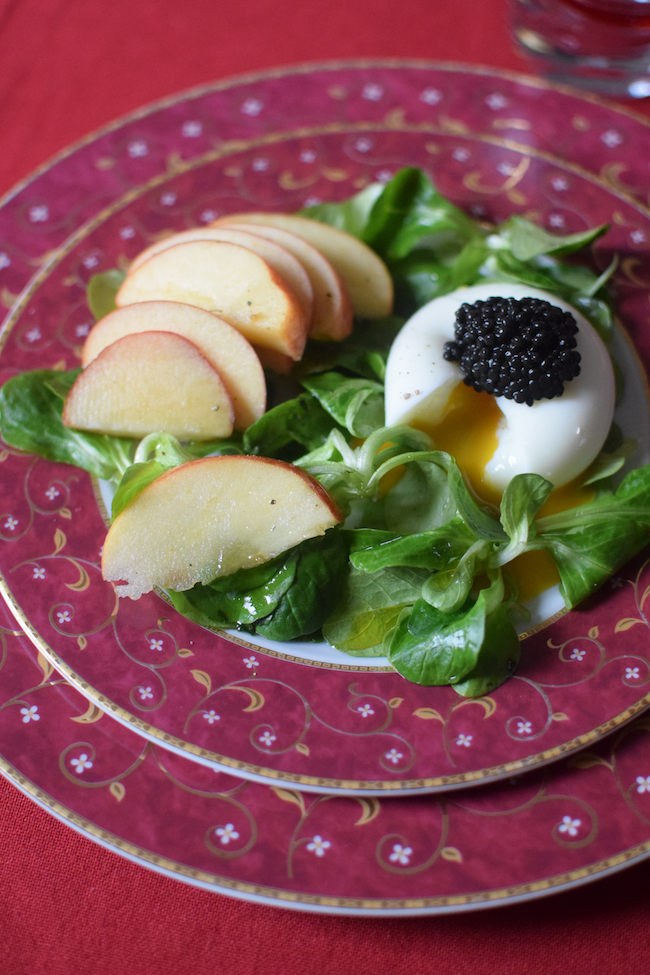 L'œuf mollet en salade | LovaLinda | Blog | Cuisine Recettes Entrée Plat Brunch | Photographie
