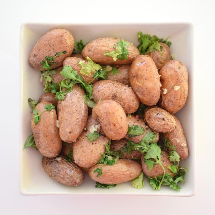 Les grenailles à la coriandre | LovaLinda | Blog Cuisine Recettes Entrée Plat Salade Brunch Accompagnement | Photographie