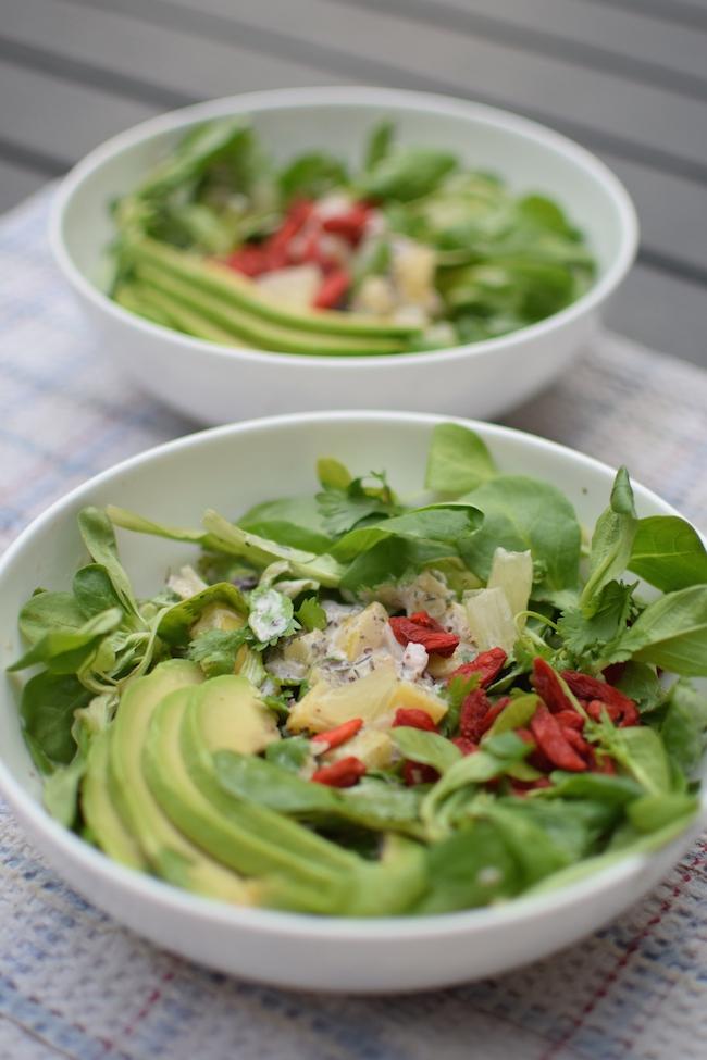 La salade aux herbes et citron confit | Lovalinda x Cuisine Blog x Recette Ramadan 2014