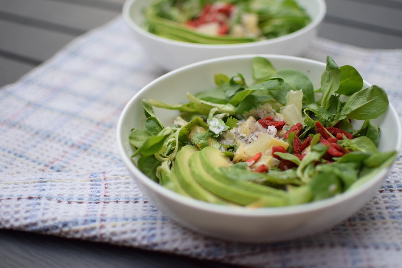 La salade aux herbes et citron confit | Lovalinda