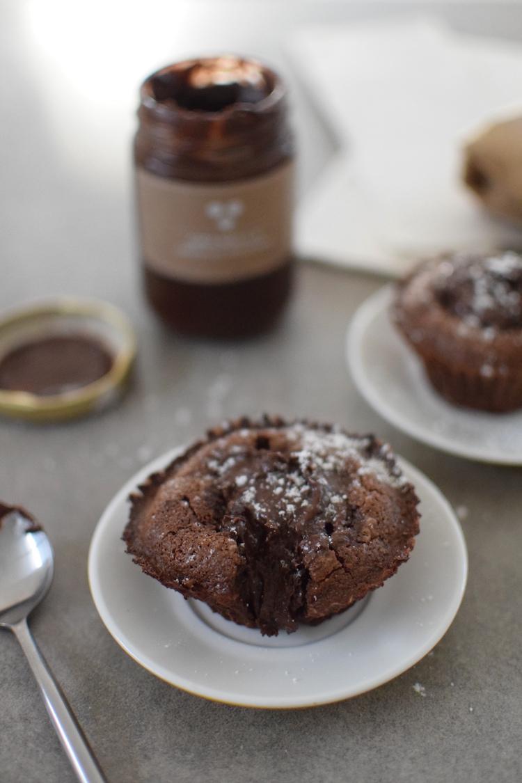 Les mi-cuits cœur Nutella | Granella | LovaLinda | Blog Cuisine Recettes Dessert Photographie