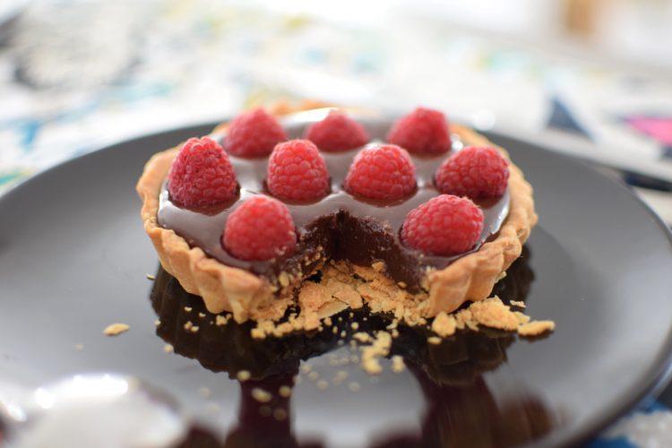 Les tartelettes au chocolat et framboises | LovaLinda | Blog Cuisine Recettes Dessert Patisserie