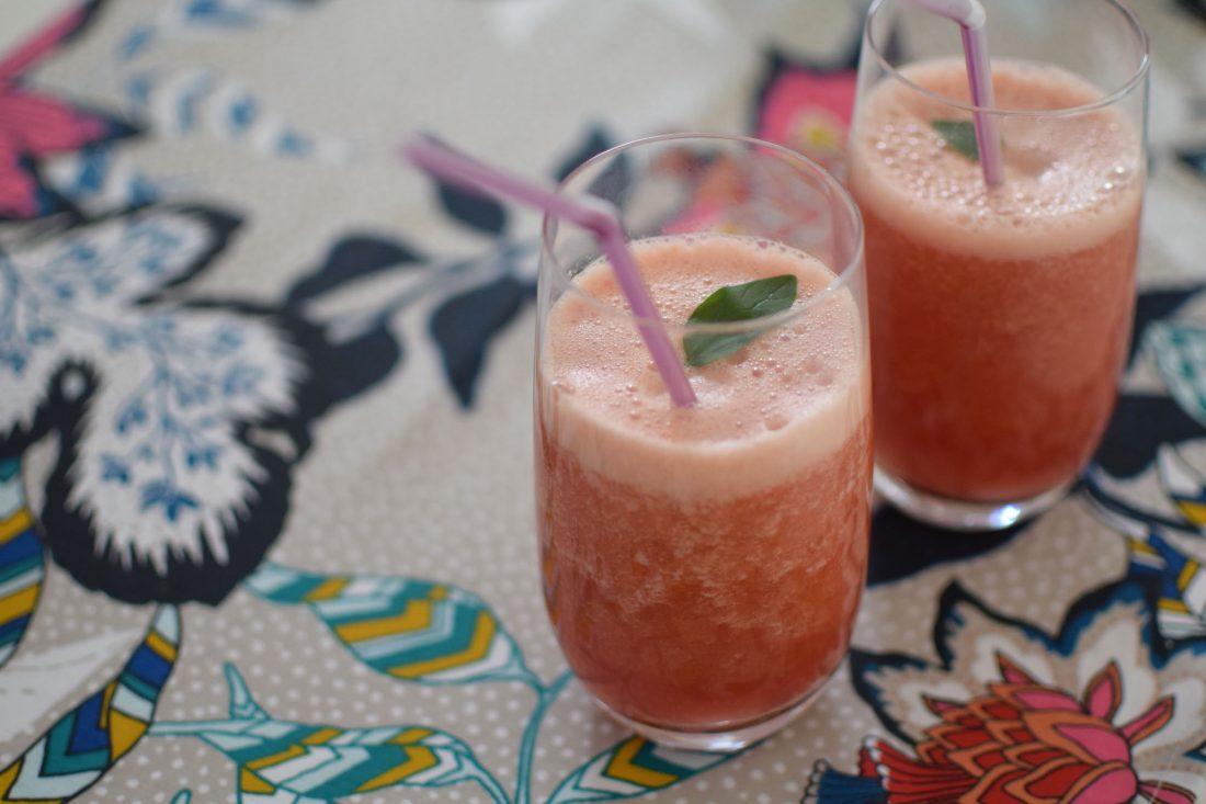 Le smoothie de pastèque | LovaLinda | Blog Cuisine Recettes Boissons Smoothie