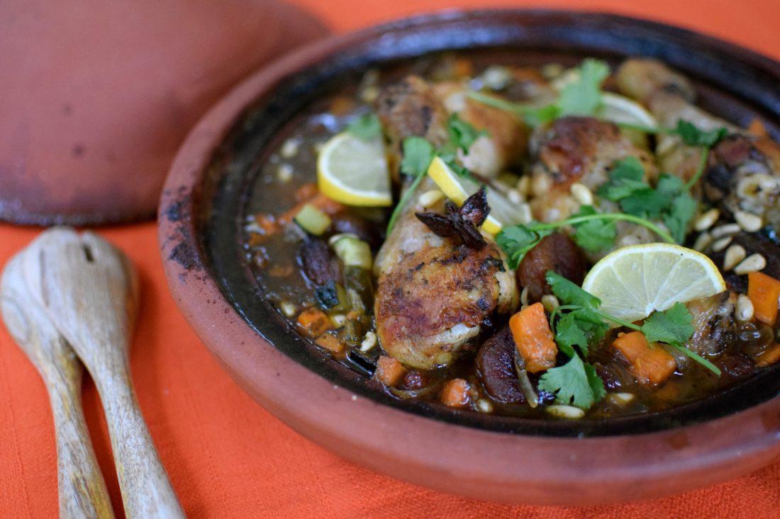 Le tajine poulet aux abricots secs | LovaLinda | Blog Cuisine Recettes Plat Maroc | Photographie