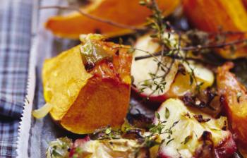 Les fruits et légumes au four