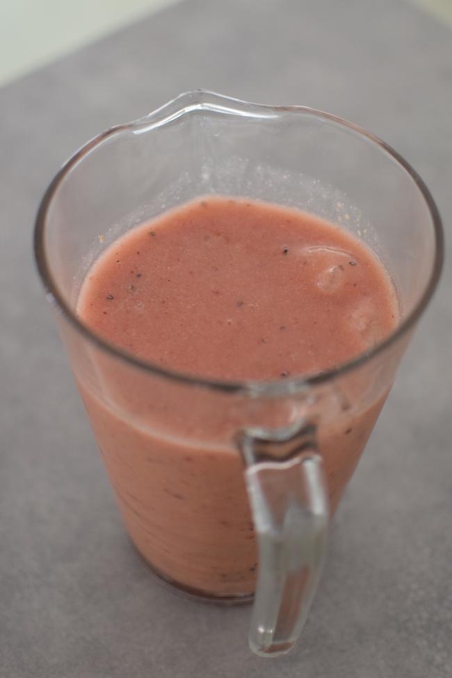 Le smoothie melon et baies | LovaLinda | Blog Cuisine Recettes Boissons