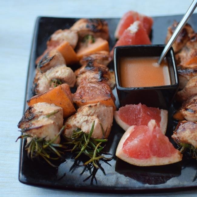 Les brochettes de poulet, romarin pamplemousse | LovaLinda | Blog Photo Cuisine Marseille