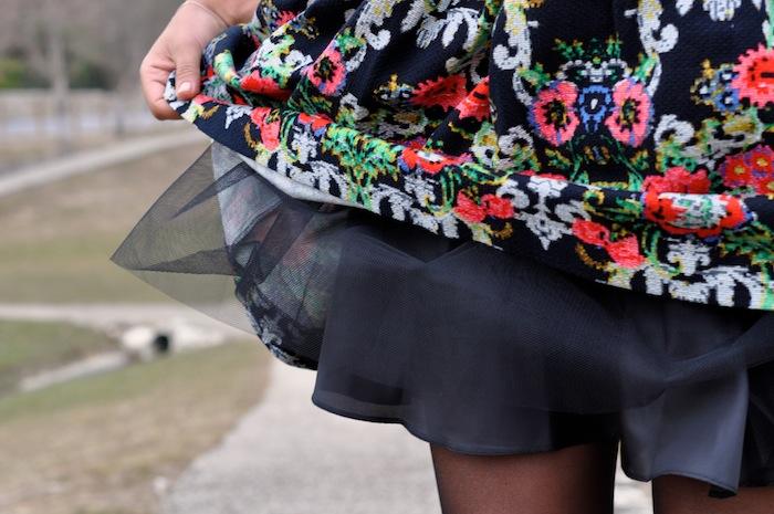 Le tutu fait tapisserie - LovaLinda x Asos Dress