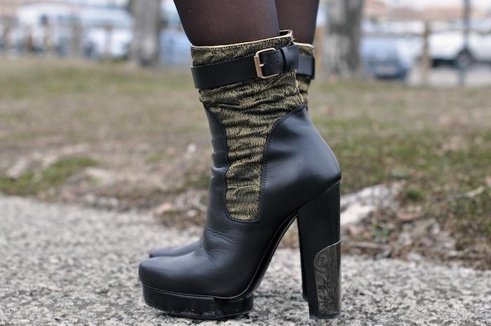 Le tutu fait tapisserie - LovaLinda x Lanvin Lurex Boots