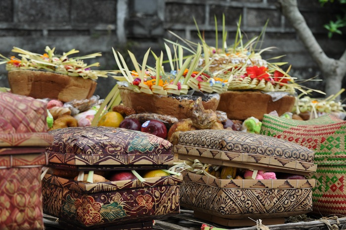 LovaLinda Bali Canang AnnualBithday Temple