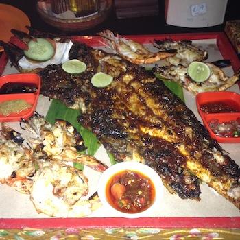 LovaLinda Bali Jimbaran FishBarbecue