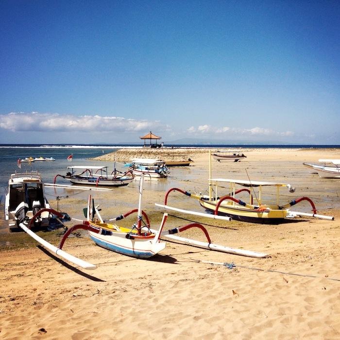 LovaLinda Bali RoyalSantrian Beach Boat