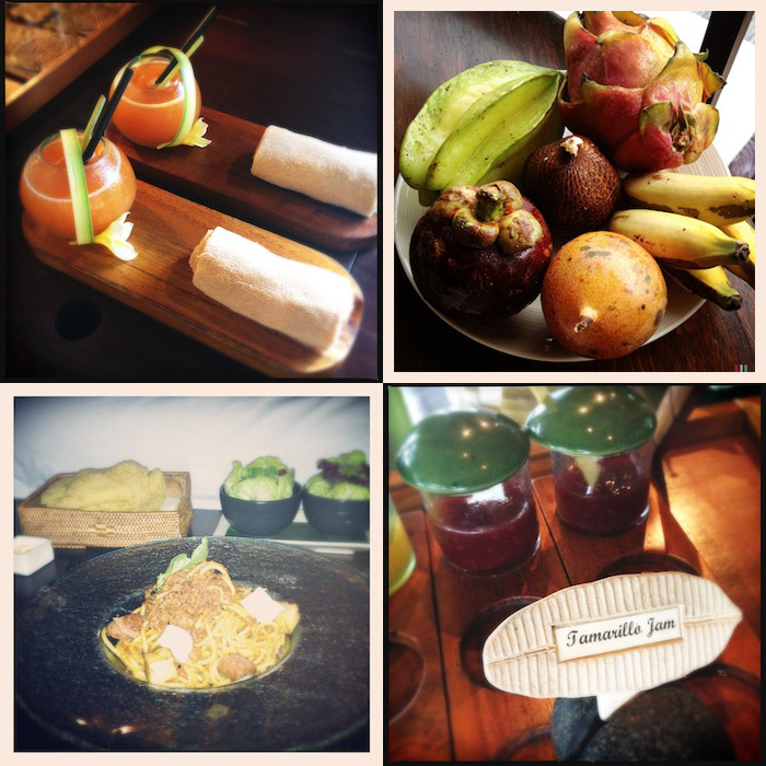 LovaLinda Bali Ubud Hanginggardens Food