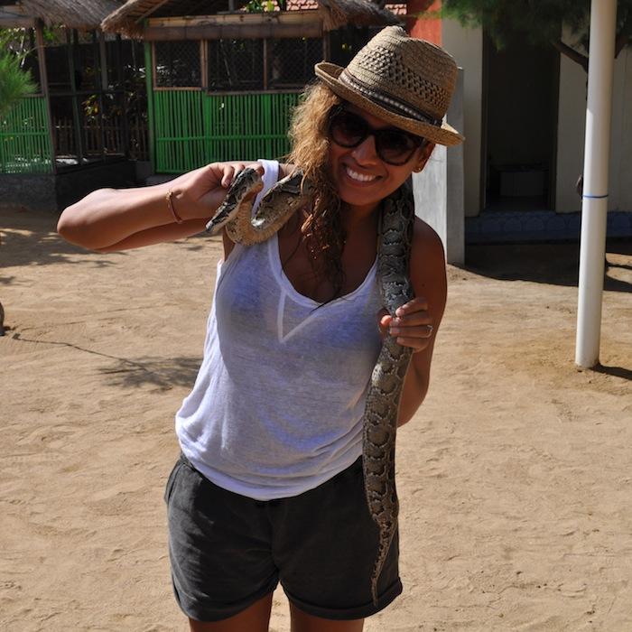LovaLinda Bali iPhone Snake