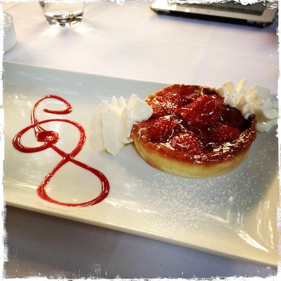 LovaLinda La Villa Tarte aux fraises