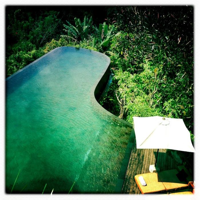 LovaLinda Ubud Hanging Gardens Pool Hipstamatic