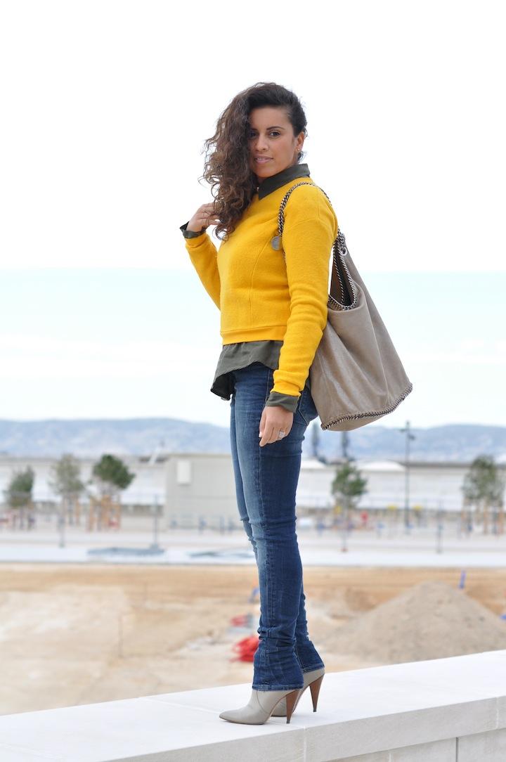 Le color-block de mi-saison - LovaLinda