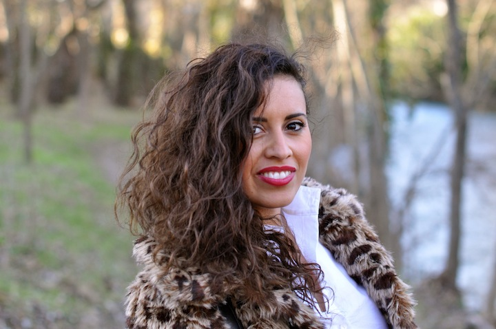 Leopard des bois - LovaLinda - NastyGal Jacket x Karl Shirt x Rouge G Guerlain