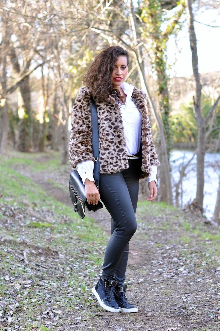 Leopard des bois - LovaLinda - NastyGal x Karl x Zara x Yves Saint-Laurent x 3.1 Philip Lim