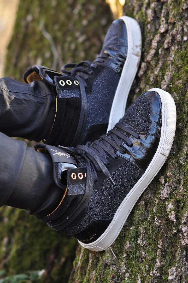 Leopard des bois - LovaLinda - Sneakers Yves Saint-Laurent