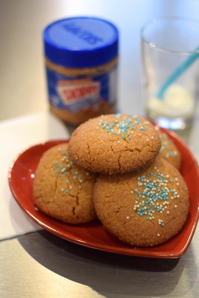 Les biscuits au beurre de cacahuètes | LovaLinda | Blog Cuisine Recettes Dessert Patisserie