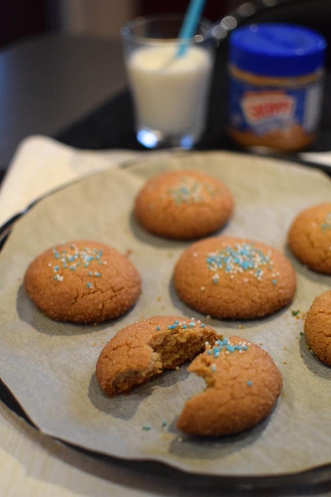 Les biscuits au beurre de cacahuètes | LovaLinda | Blog Cuisine Recettes Dessert