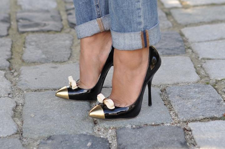 LovaLinda - Le jeu de transparence -Gucci x Bow Embellished Pumps Giuseppe Zanotti
