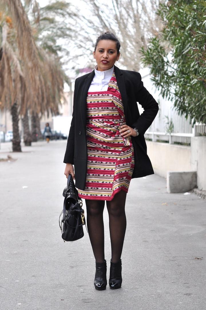 LovaLinda - Robe d'été Carven en hiver - Look
