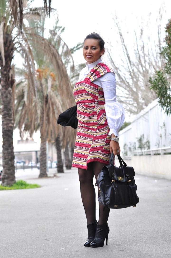 LovaLinda - Robe d'été Carven en hiver - Lookbook