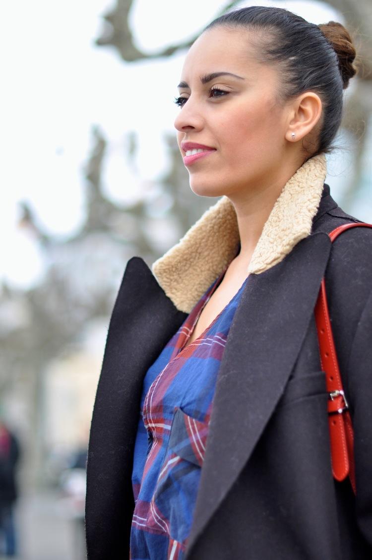 Les carreaux 60's ⎪ Lovalinda ⎪PS11 Proenza Schouler x Coat Carven x Shirt Zara