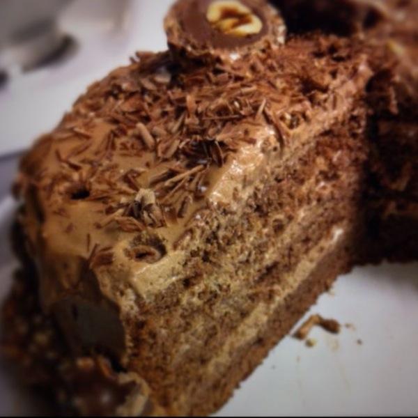 Genoise et mousse au chocolat by Julia Vale M