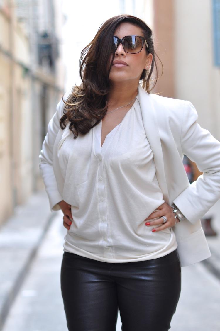 Le cuir de printemps - LovaLinda - Mango x Tara Jarmon x Hotel Particulier x Emmanuelle Kahn
