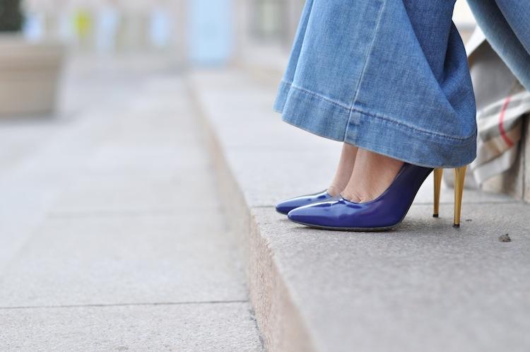 Néo Kimono ⎪Lovalinda ⎪Sandro Flare x Les Petites Shoes