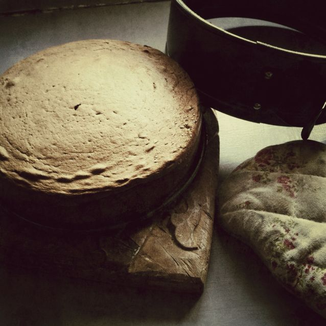 génoise et mousse au chocolat par Julia ValeM