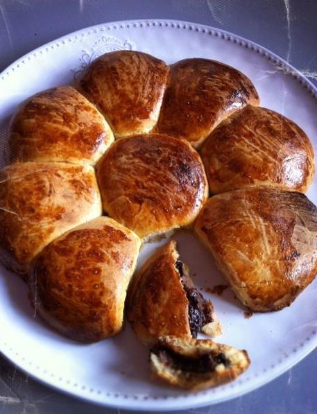 La Marguerite de p'tits pains au Nutella by Julia Vale M
