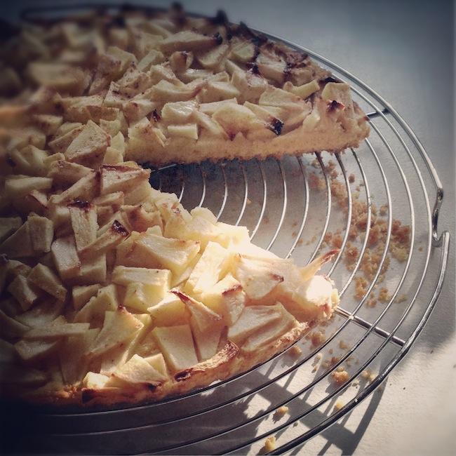 La tarte aux pommes et sa pâte comme un sablé breton x Lovalinda x Julia Vale M