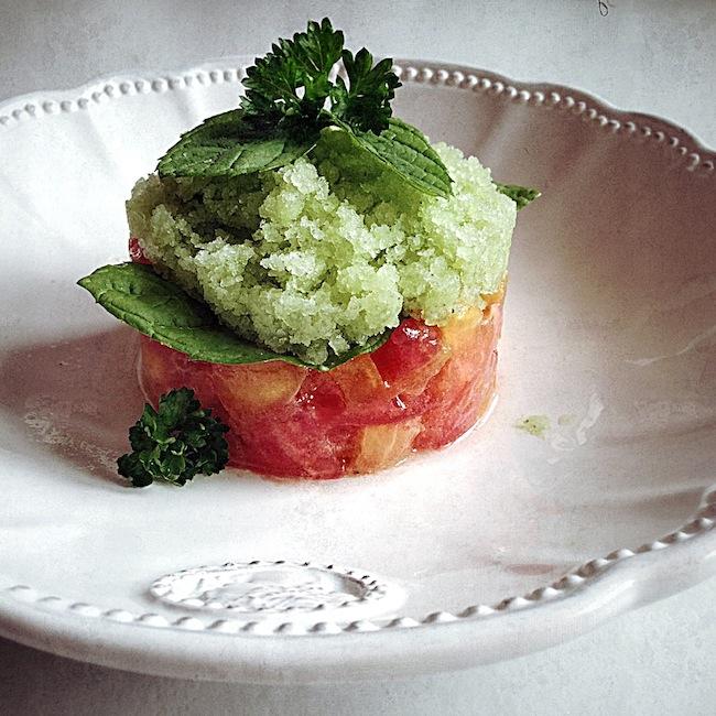 Le granité de wasabi by Julia Vale M for Lovalinda