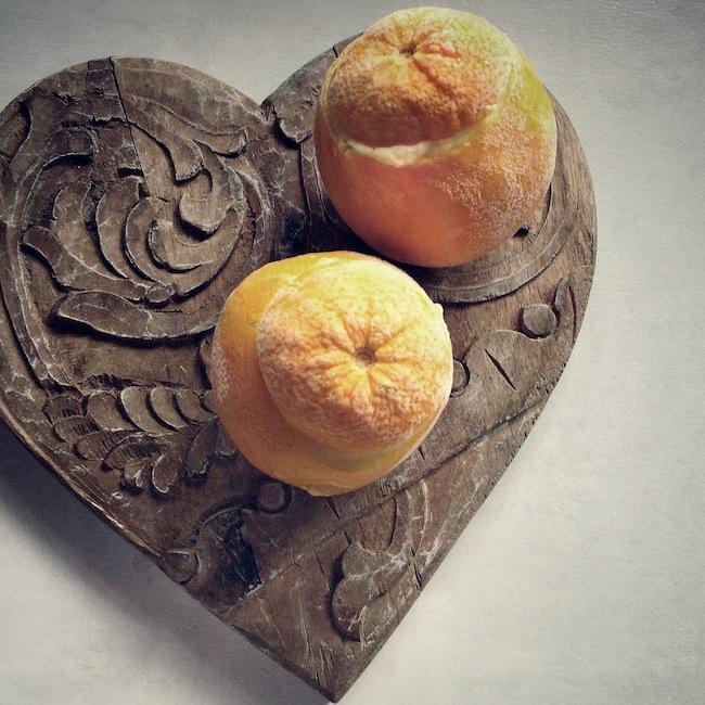 Les oranges givrées by Julia Vale M