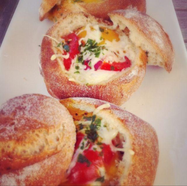 Les petits pains à la coque par Julia Vale M