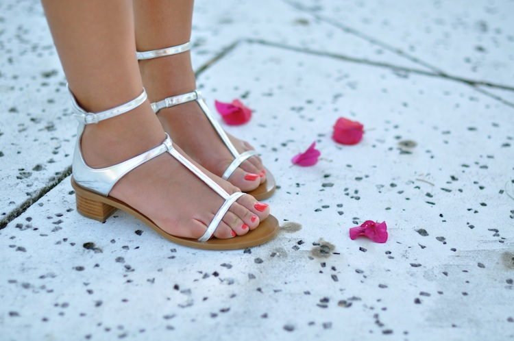 L'exaltant corail - LovaLinda x Zara Sandals