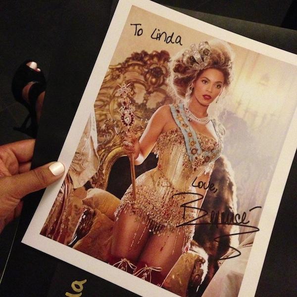 L'expérience Priceless par LovaLinda - MrsCarterShow - Beyoncé Photo Dédicacée