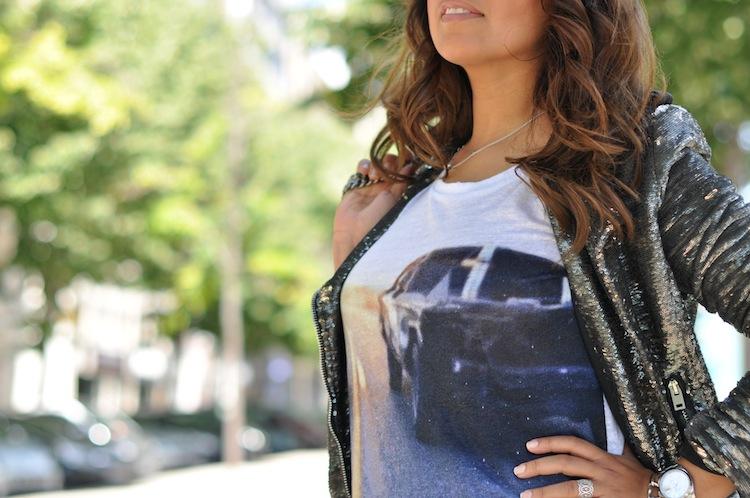 L'alu pleine peau - LovaLinda - Iro Bridger Linen T-Shirt